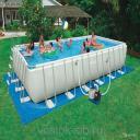 Бассейн  Intex 54982 549х274х132 см + песочный насос-фильтр, лестница, тент, подстилка, набор для чистки, воле