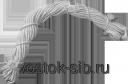 Веревка бельевая х/б 10м /20/1200/