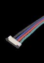 Коннектор 10мм/4х150мм RGB для ленты 5050 1шт.