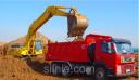 Вывоз грунта самосвалами 30 тонн