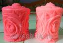Форма для свечей Свеча-роза