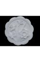 Гипсовое панно Виньетка Нарциссы (Д130*Ш130*В20 мм)