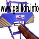 Пилорама ленточная - БИЗОН (диаметр пильных колес 620 мм)