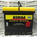 Аккумулятор BERGA 52 Ah EN470 о/п (207х175х190) (BB-H4)