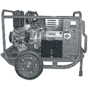 Генератор 7кВт - сварочный комплекс армейский энергокомплекс СВЭК-М (АД7-Т400/230-1В)