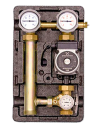 Насосная группа подмеса МК с термостатом с насосом Grundfos UPS 25-60