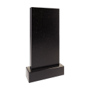 Стела 60x40x8 см (в комплекте с подставкой и цветником) 1