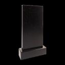 Стела 80x40x8 см (в комплекте с подставкой и цветником) 2