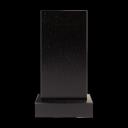 Стела 100x50x8 см (в комплекте с подставкой и цветником) 3
