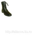 Берцы женские (высота 25 см), натуральный мех и кожа БАТ 1257