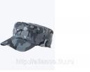 Кепи охранника КМФ цв. серый, зеленый утеплен. ГУ 018