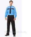 Рубашка охранника, длинный рукав КО 301