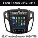 Вертикальный экран Автомагнитолы со встроенным GPS система глонасс Ford Focus 2012 13 14 2015