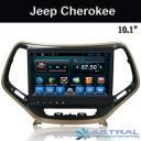 Jeep Cherokee Штатное головное устройство GPS Glonass 10.4 дюймовый завод Китай