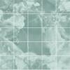 Листовая панель ХДФ 2440х1220х3 мм Малахит Морская волна