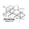 Несущая рейка 3,6 м Т-24 Armstrong Javelin
