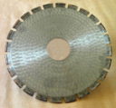 Алмазный круг отрезной сегментный ГОСТ 16115-88 900 х 120 х 7,0 мм