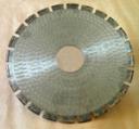 Алмазный круг отрезной сегментный ГОСТ 16115-88 1200 х 120 х 8,0 мм