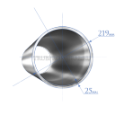 Труба 219х25,0 мм., сталь 09Г2С, ТУ14-3Р-1128-2007