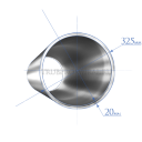 Труба 325х20,0 мм., сталь 09Г2С, ТУ14-3Р-1128-2007
