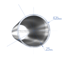 Труба 426х25,0 мм., сталь 09Г2С, ТУ14-3Р-1128-2007