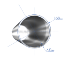 Труба 168х8,0 мм., сталь 13ХФА, ТУ1317-006.1- 593377520-2003