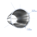 Труба 325х8,0 мм., сталь 13ХФА, ТУ1317-006.1- 593377520-2003