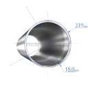 Труба 219х18,0 мм., сталь 20А, ТУ14-162-14-96
