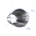 Труба 57х4,0 мм., сталь 09Г2С, ГОСТ8732-78