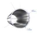 Труба 60х6,0 мм., сталь 09Г2С, ГОСТ8732-78