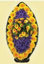 Венок из цветков