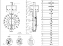 Высокопроизводительный затвор высокой температуры с проушиной согласно американскому стандарту 1150108
