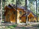 Строительство домов из бруса, оцилиндровки