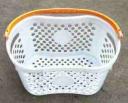 Корзина пластиковая Модель Е-09 белая