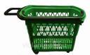 Корзина пластиковая Модель Е-14 зеленая