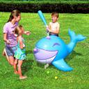 Надувной кит для игры в бейсбол Interactive Whale Ball-Pop Sprinkler