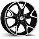 Автомобильные диски 8.5x18 5x120 74.1 ET46 AEZ Phoenix dark