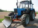 Отвал коммунальный механический КО-2,4 (2400мм.). для трактора МТЗ, ЮМЗ, ЛТЗ