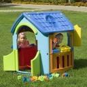 Игровой домик для детей из пластика