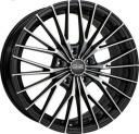 OZ Ego 8.0x18 5/112 ET48 d-75 Matt Black Diamond Cut (W8504720354) 75.0