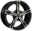 OZ Power 8.0x17 5/114.3 ET45 d-75 Matt Black Diamond Cut (W8500520454) 75.0