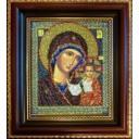 Рама для иконы, Радуга бисера (Кроше), 19x23