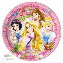 Тарелка Принцессы и животные 20 см  8 шт.