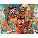 Живопись по номерам Совушки, 40x50, Paintboy, GX8849