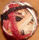 Пряжа целебная «Радуга-1» дизайнерская для ручного вязания