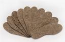 Стельки (Войлок 100% шерсть, толщина 5мм) Размеры 36-45