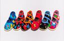 Тапочки детские на липучке (с высоким задником 116) Размеры 10-11,5