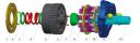 Запчасти для гидромоторов и гидронасосов KYB (Kayaba)