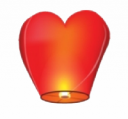 Сердце (Небесный фонарик)