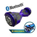 Гироскутер Smart Transformer LED 8 дюймов Синий